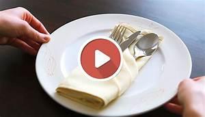 Gardinen Richtig In Falten Legen : servietten falten festlich how to anleitung video schick edel besteck in die serviette legen ~ Yasmunasinghe.com Haus und Dekorationen