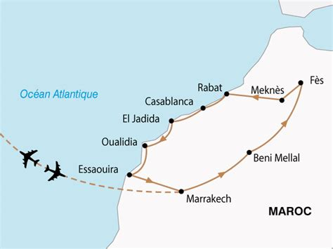 Annulation Chambre Hotel - circuit villes imperiales et cote atlantique maroc avec