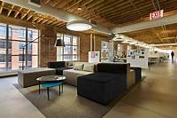 interesting office room interior Tris3ct office in Chicago by Twofold Studio | Office Seating Area Designs | Pinterest | Studio