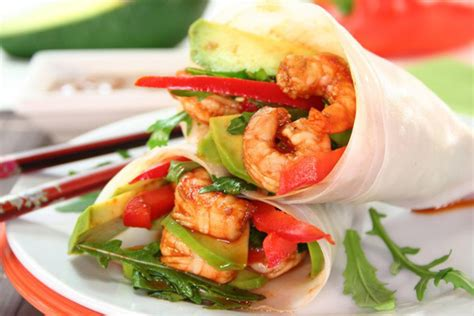 shrimp caesar wrap keeprecipes  universal recipe box