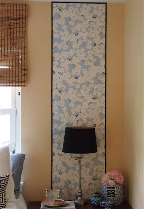 chinoiserie wallpaper panels eclectic bedroom st