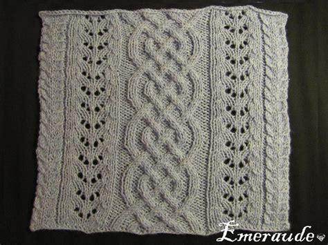 tricoter un plaid en kal tricot plaid irlandais carr 233 n 176 5 tricot plaid and craft