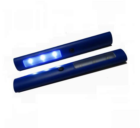 magnetic led multi function light bar blue