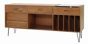 Cabinet Maison Du Monde : gimmick midcentury record cabinet at maisons du monde retro to go ~ Nature-et-papiers.com Idées de Décoration