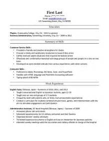 park ranger federal resume critique request cover letter resume for hotel hospitality field