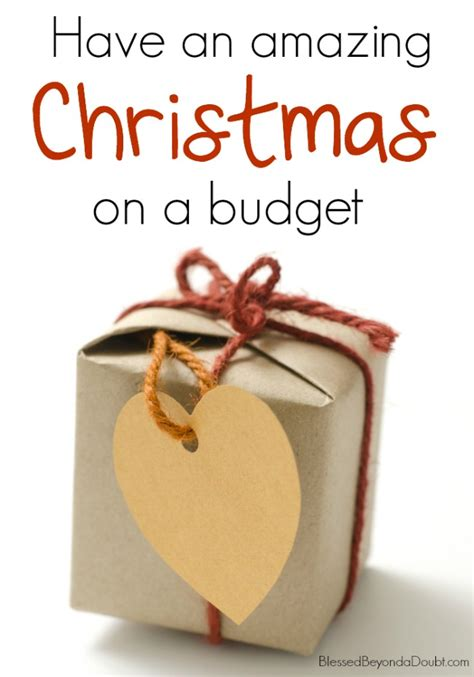 20 tips for an amazing christmas on a budget