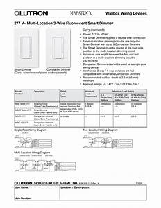 Lutron Maestro Multi Location Dimmer Wiring Diagram