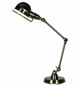 Lampe Bureau Design : lampe de bureau design couleur nickel e14 milla ~ Teatrodelosmanantiales.com Idées de Décoration