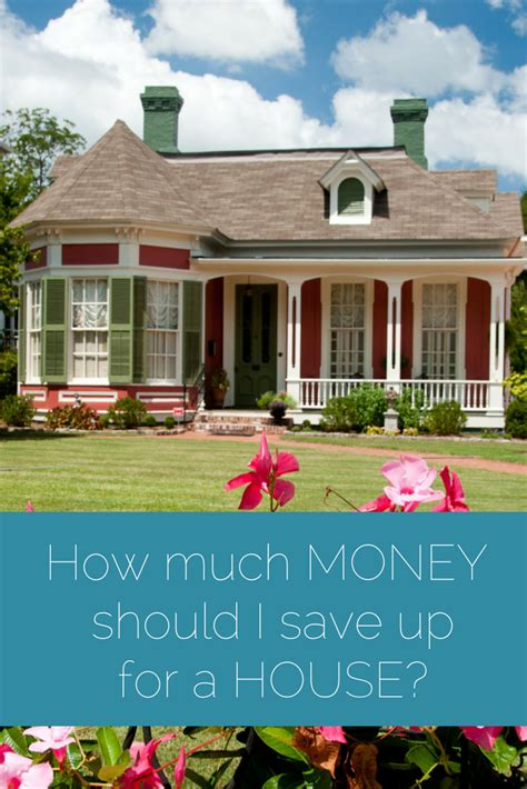 How Much Money Should I Save Up For A House?  Figuring Money Out