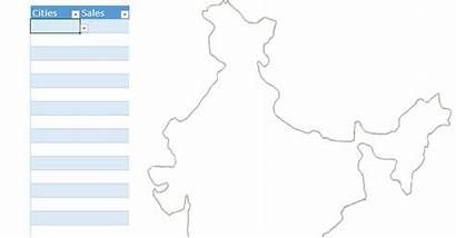 Map Chart Plotting Cities Goodly Charts Pie