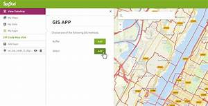 Gis App  Select From Map And Edit Multiple Map Features At