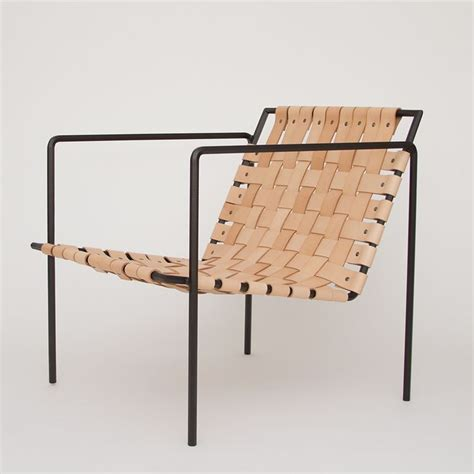 rod weave chair powder coated