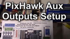 Pixhawk Aux Outputs Setup For 14 Channels  Taranis X9d