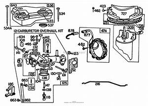 4 5 Hp Briggs And Stratton Carburetor Diagram
