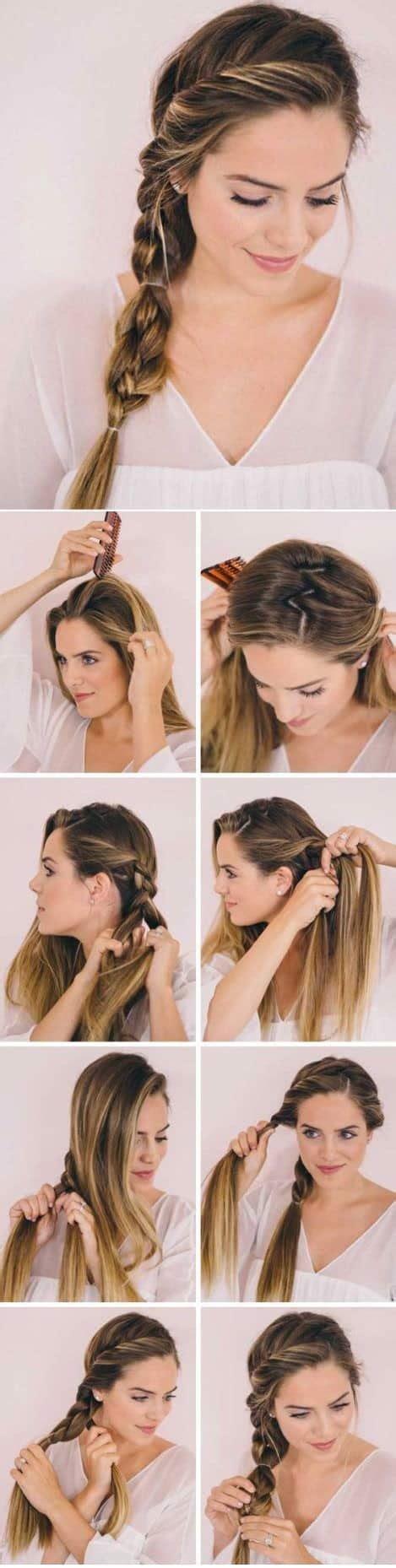 peinados faciles  rapidos paso  paso modelos