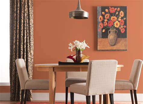 peach punch dining room dining room colours rooms