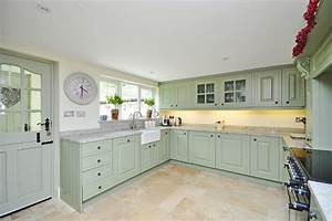 country cottage With kitchen cabinets lowes with papiers peints farrow and ball