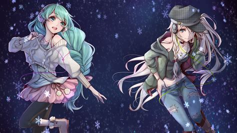 Anime Wallpaper - vocaloid hatsune miku ia vocaloid anime wallpapers hd