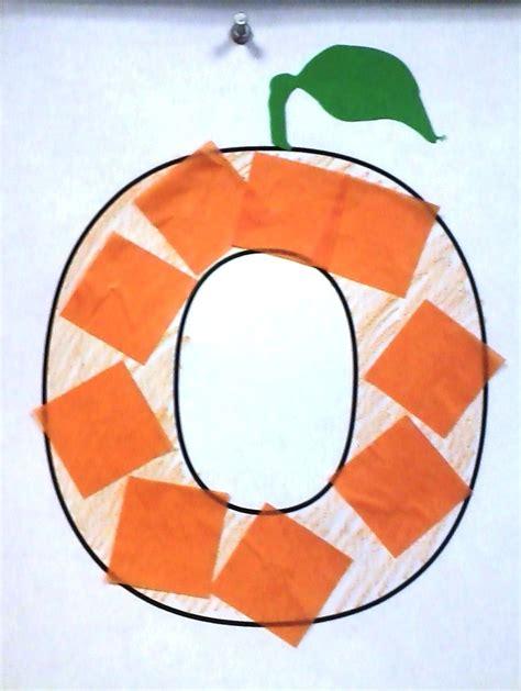 o is for orange crafts alphabet preschool letter 833 | 211168f04456df81d0c611c477f03711