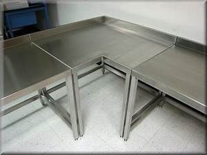 L-Shaped Tables at RDM Industrial Products