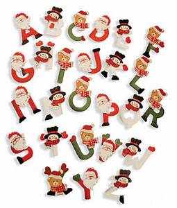 1 1 2quot painted wooden christmas alphabet letters 104pcs With holiday alphabet letters