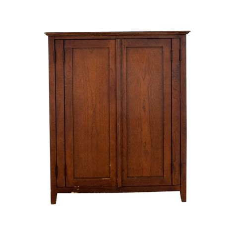 Tv And Clothing Armoire  Black Tv Clothing Armoire For