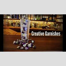 Creative Ideas For Cocktail Garnishes  Youtube
