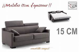 canape lit droit convertible rapido express compact mayor With solde canape lit