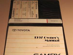 Find 97 Toyota Camry 4dr Sedan Ce Le Xle Owners Manual Guide Instruction Book 1997 Motorcycle In