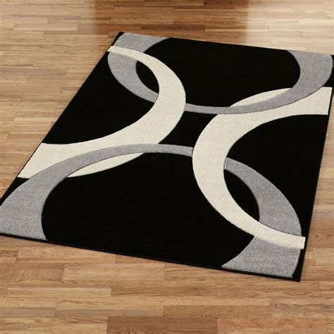 Black Kitchen Area Rugs black and white kitchen rug rugs design