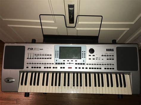 Korg Pa50 Sd Card_keyboard-hit_lautsprecher_lcd_ovp