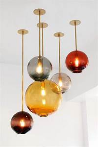 Blown glass pendant lighting ideas for a modern and