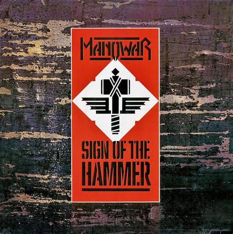 manowar sign of the hammer at discogs