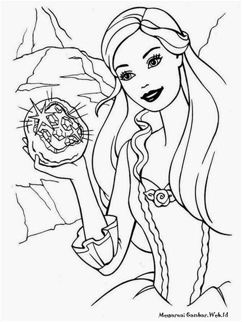 You can use these free coloring pages gambar lol mewarnai for your websites documents or presentations. Mewarnai Barbie Fashion Fairytale | Mewarnai Gambar