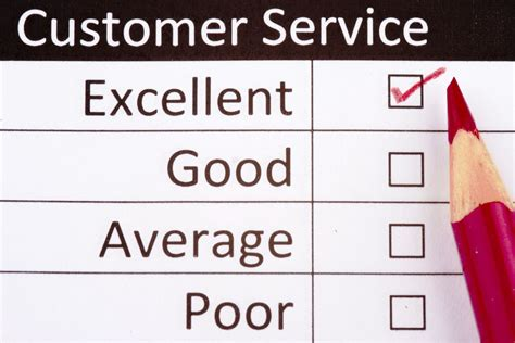 customer service customer service survey questionnaire