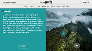 Free Responsive Captivate Course Template Download From Fastercourse Com