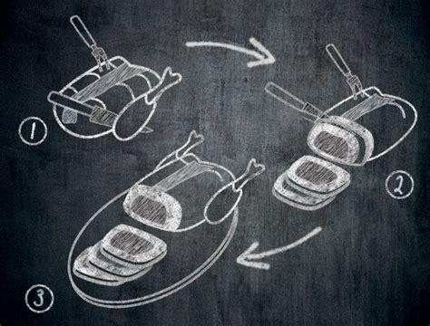 cuisiner du coq comment découper une volaille semi désossée farcie maître
