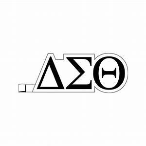 greek letters delta sigma theta plastic greek letter With plastic greek letters