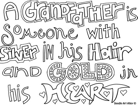 I Love You Grandpa Free Coloring Pages