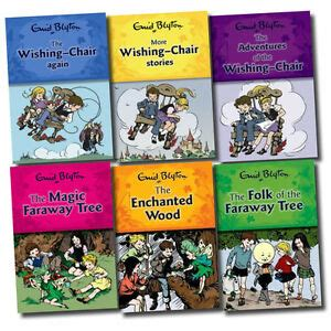 enid blyton wishing chair and magic faraway tree series 6 books collection set ebay