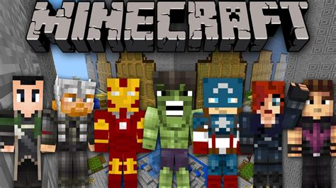 minecraft  walls avengers assemble youtube