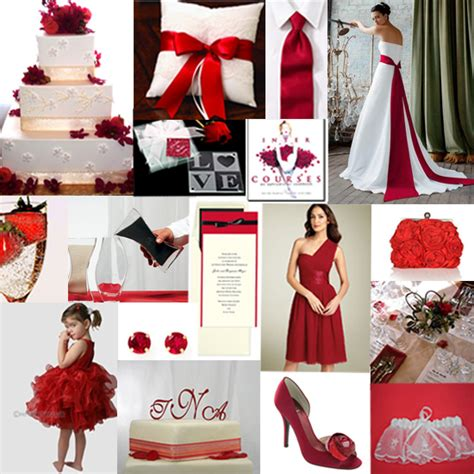 to be white or to be red red wedding theme inspiration