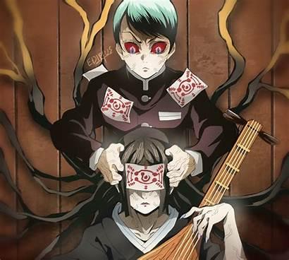 Kimetsu Yaiba Yushiro Slayer Demon Anime Nakime