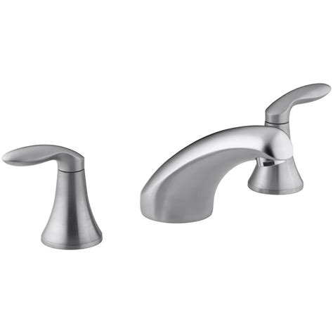 kohler coralais 8 in widespread rim mount 2 handle
