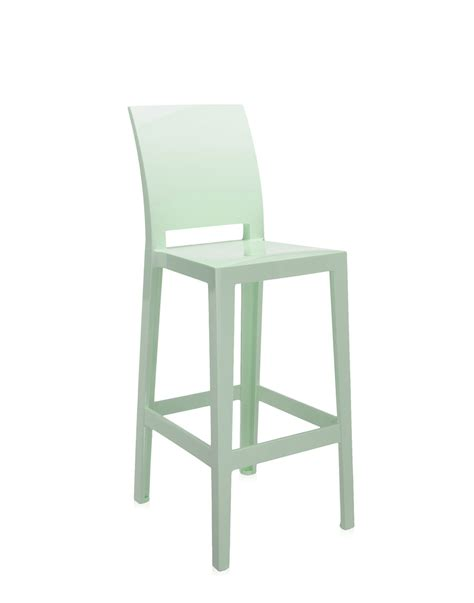 Kartell Stool One More Please Green Newformsdesign