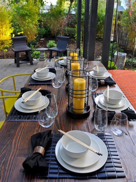 outdoor decorating outdoor decorating ideas food network summer