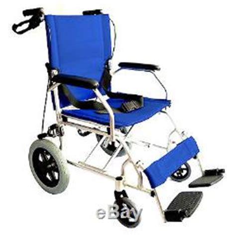 fauteuil roulant de transfert elite care ec1863 pliant l 233 ger fauteuil roulant de transfert avec freins sous