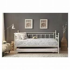 lit de jour avec lit gigogne tanguay With tapis persan avec housse pour canapé lit gigogne