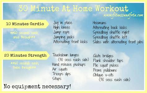 30 Minute At Home Workout by 30 Minute At Home Workout Fitness Feta