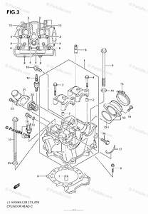 Suzuki Atv 2008 Oem Parts Diagram For Cylinder Head